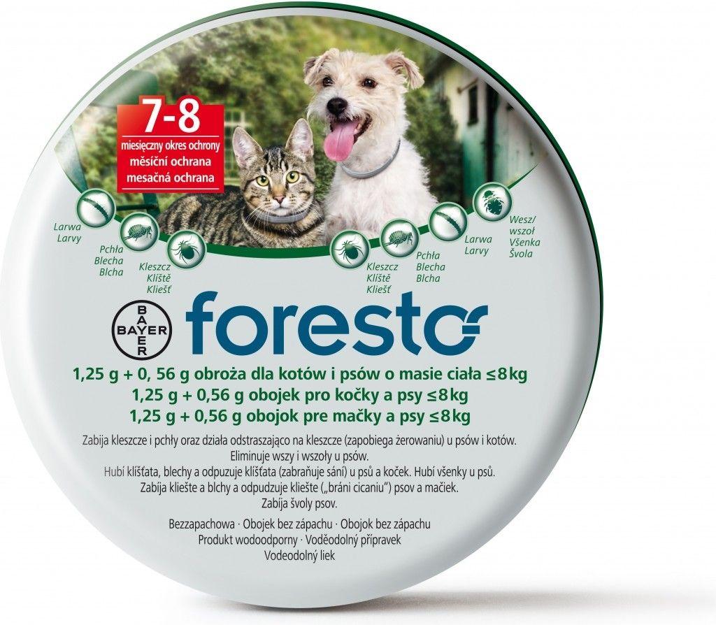 Obojek Foresto pro kočky a malé psy 38cm BAYER Animal Health