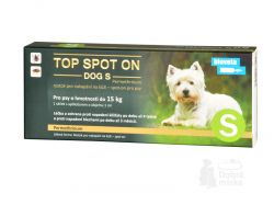 Top spot on Dog S 1 x 1 ml (do 15kg)