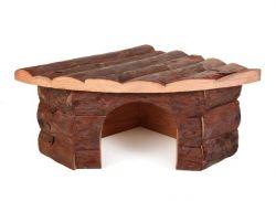 TRIXIE Dřevěný dům rohový JESPER pro králíka 42x15x30/30cm