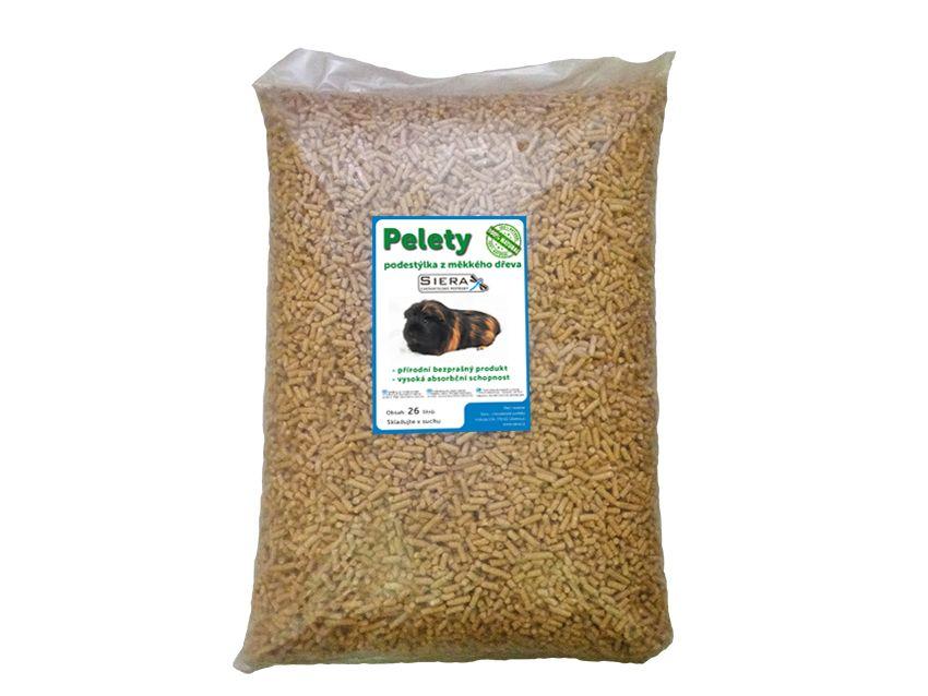 Siera dřevěné pelety 26l/15kg SIERA - Pelety