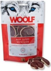 WOOLF pochoutka beef sushi with cod 100g