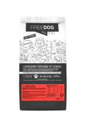 FREEDOG With Lamb Medium 4kg
