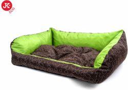 Kanape lux č. 3 zeleno-hnědé 105x75x20cm