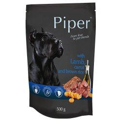 Piper with Lamb, Carrot and Brown Rice 500g