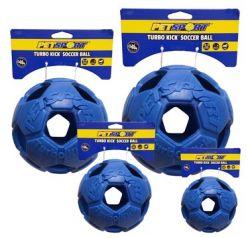 Turbo Kick Soccer Ball 6,25cm - fotbalový míč pro psy, modrý