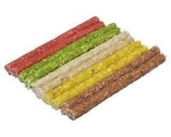 Tyčinka chroupací mix barev 12,5cm / 7 - 8mm 100ks SIERA - Buvolina