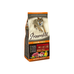 PRIMORDIAL Dog Adult Buffalo & Mackerel 2kg