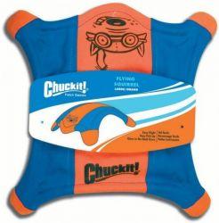 Létající talíř L - veverka - oranžovo-modrá