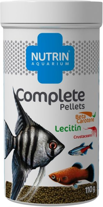 NUTRIN Aquarium - Complete Pellets 110g (250ml)