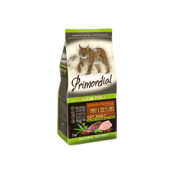 PRIMORDIAL Cat Adult Duck & Turkey 2kg