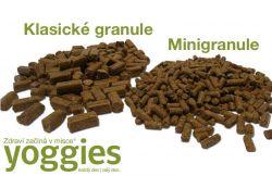 YOGGIES Dog Mini Jehněčí a bílá ryba 15kg
