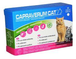 Abel plus CAPRAVERUM Cat probiotikum prebiotikum 30 tbl