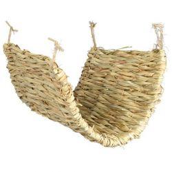 Houpačka/podložka z trávy pro osmáky a krysy 40 x 28cm