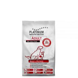 Platinum Natural Adult Beef & Potatoes 1,5kg