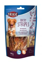 Premio DUCKY STRIPES Light - kachní maso 100g