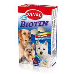 SANAL Biotin-kalciové tabletys biotinem 100 tbl/100 g