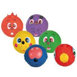 Směs míčů s obličejem 7cm