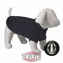 Černý svetr King of Dogs S 40cm