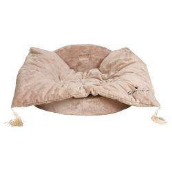 ,Pelech s dekou King of Dogs béžový 100x28x75 cm - DOPRODEJ