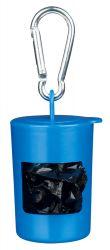 Pick up - plastový zásobník +sáčky na trus,2xrole á20 sáčků