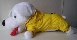 Pláštěnka žlutá s kapucí 50 cm  4L DOPRODEJ