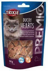 Premio HEARTS light- srdíčka z kachních prsíček a lososa 50g