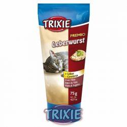 Premio Leberwurst - játrová paštika pro kočky 75g