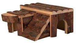 Dřevěný domek LUKA pro křečka14x7x14cm TRIXIE