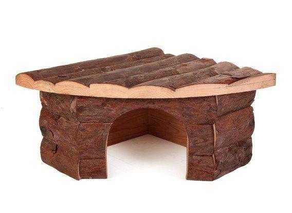 Dřevěný dům rohový JESPER prokrálíka 42x15x30/30cm TRIXIE