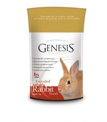 GENESIS RABBIT FOOD ALFALFA 1kg granulované k.pro králíky