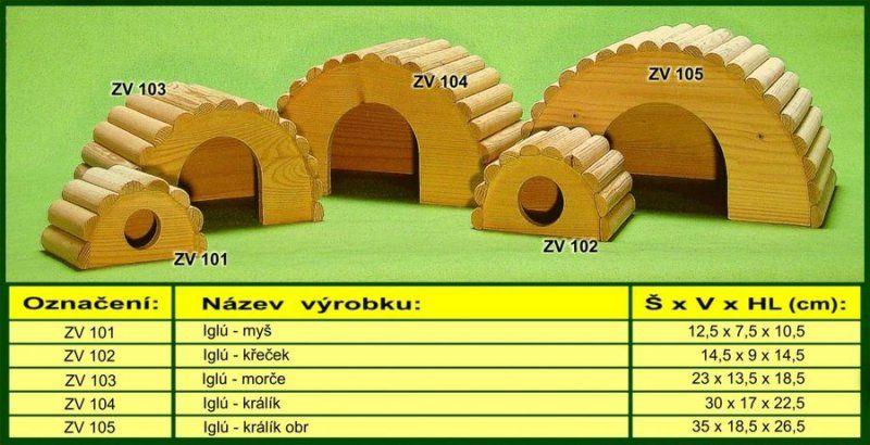 IGLU domek S pro myšku TRIXIE CZ