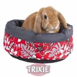Pelíšek FLOWER pro králíka 35 cm
