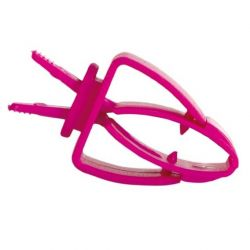 Plastový držák - kleštičky naklec (2ks)