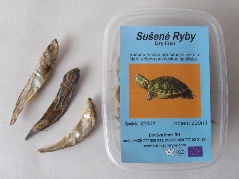 RYBIČKY, sušené v krabičce 200 ml Trixie
