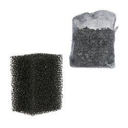 Sada - 2ks filtrační pěna + 1ks aktivní uhlí k M1000 -TRIXIE