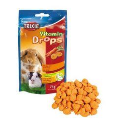 Vitamin Drops s karotenem prohlodavce 75g TRIXIE