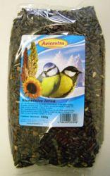 AVICENTRA slunečnice černá 500 g