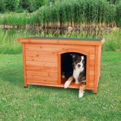 Bouda pro psa, dřevěná, rovnástřecha 104x72x68cm TRIXIE