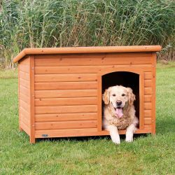 Bouda pro psa, dřevěná, rovnástřecha 116x82x79cm TRIXIE