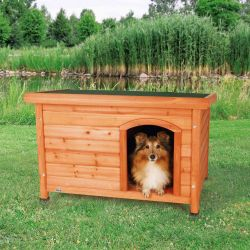 Bouda pro psa, dřevěná, rovnástřecha 85x58x58cm TRIXIE