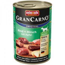 GRANCARNO Adult - jelení maso+ jablka 400g