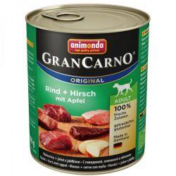 GRANCARNO Adult - jelení maso+ jablka 800g