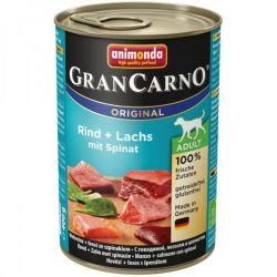 GRANCARNO Adult - losos + špenát 400g