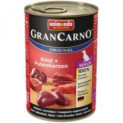GRANCARNO Senior - hovězí, krůtí srdce 400g