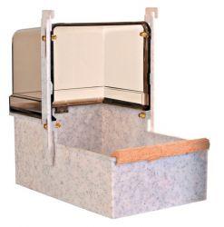 Koupelna pro papoušky velká hranatá 23x15x26cm TRIXIE