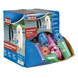 Box se 70 rolemi barevných WC sáčků M