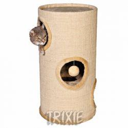 Obytný sisalový válec pro kočky 36cm/70cm - béžový
