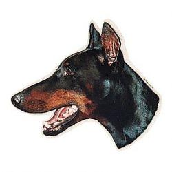 :Samolepka hlava TRIXIE, Německý ovčák černá maska  - DOPRODEJ