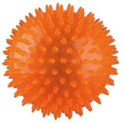 Ježatý míček,  pevný plast (TPR) 12 cm