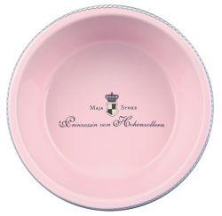 DOG PRINCESS - keramická miska růžová 0,45 l/16 cm